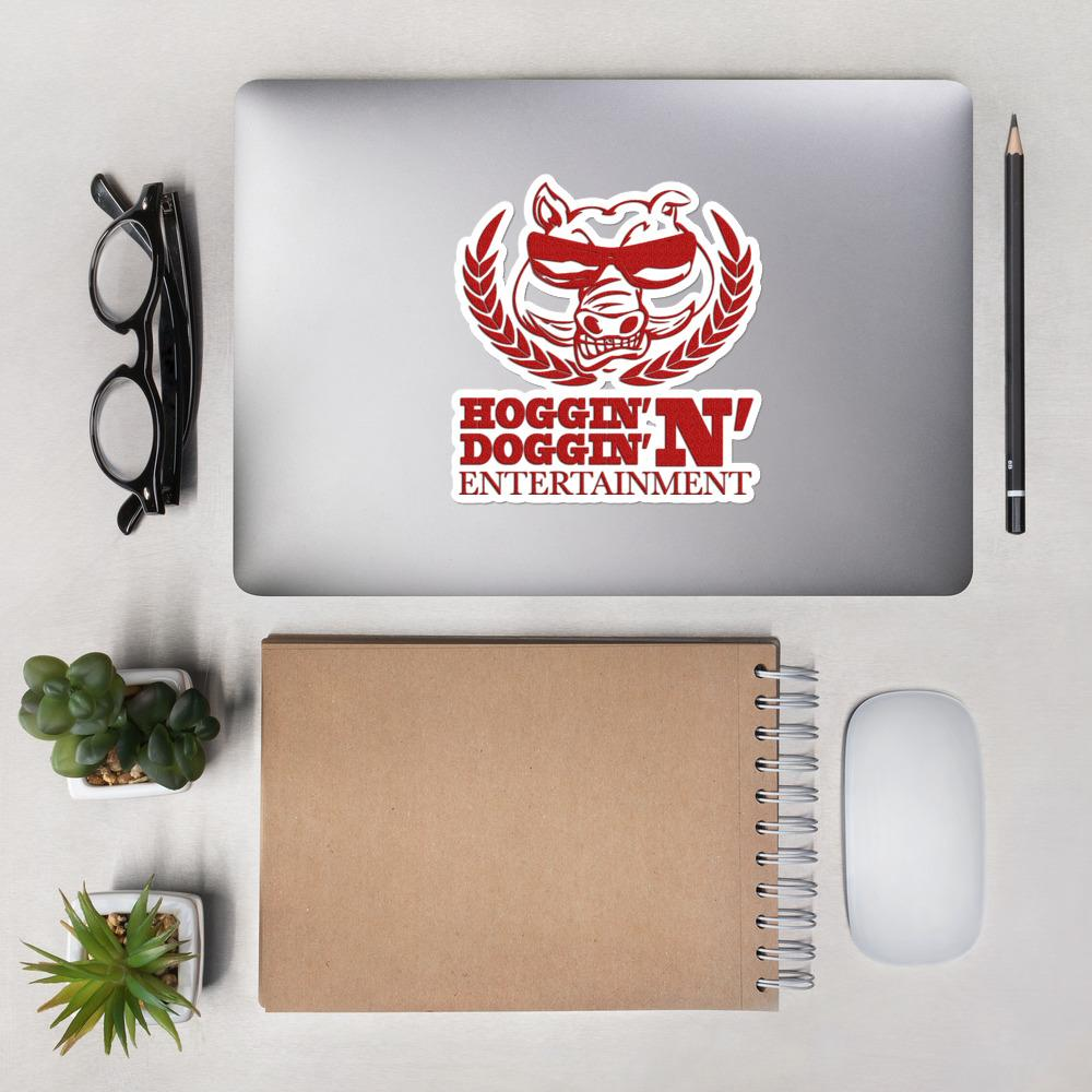 Hoggy D Ent - Bubble-free stickers - Hoggy D. Entertainment