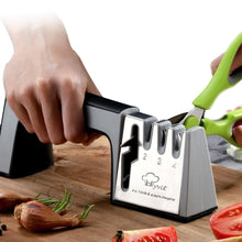 Load image into Gallery viewer, 4 in 1 Diamond Coated Knife and Scissors Sharpener