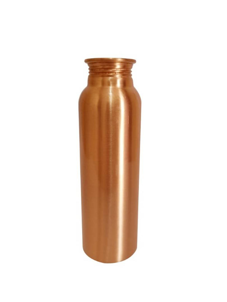 1 Liter Leak-Proof Pure Copper for Travelling Purpose, Yoga Ayurveda Healing Health Benefits (2 Bottles Set) - My Kitchen Cove