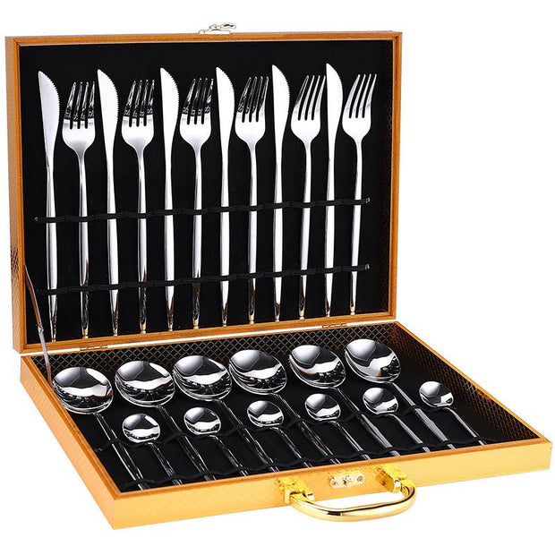 24pcs Luxury Cutlery Set - My Kitchen Cove