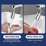 360° Kitchen Faucet with Splash Water Sprayer - My Kitchen Cove