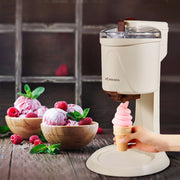 Automatic small ice cream machine - My Kitchen Cove