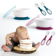 Baby large capacity suction cup bowl - My Kitchen Cove