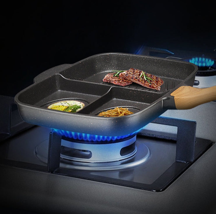 Compartment Non-Stick Pan - My Kitchen Cove