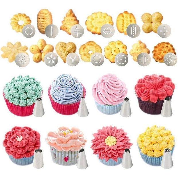 a bunch of cupcakes that are on a table