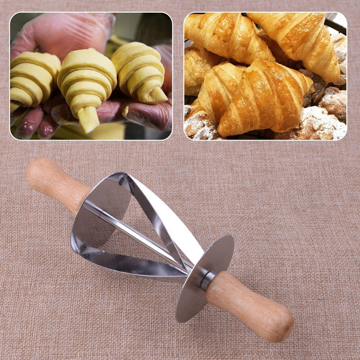 Croissant Dough Wheel Cutter - My Kitchen Cove