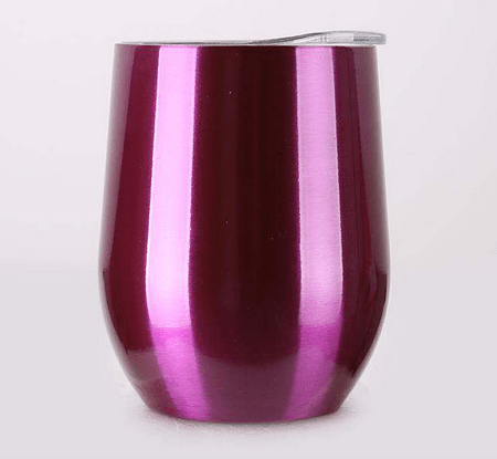 Double Layer Stainless Steel Wine Glass - My Kitchen Cove