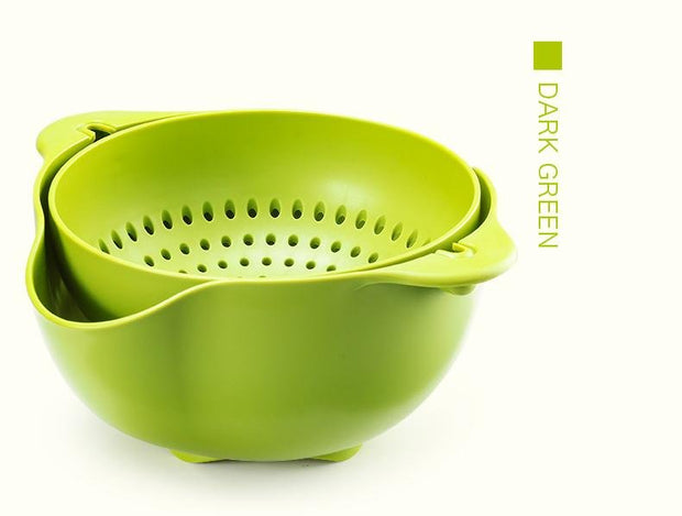 Double Plastic Drain Basket - My Kitchen Cove