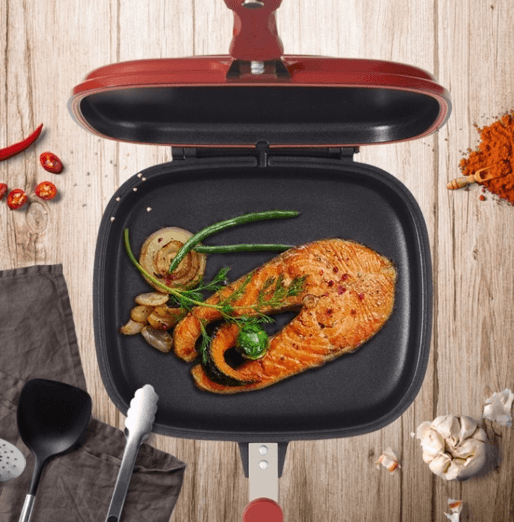 Double Side Grill Pan - My Kitchen Cove
