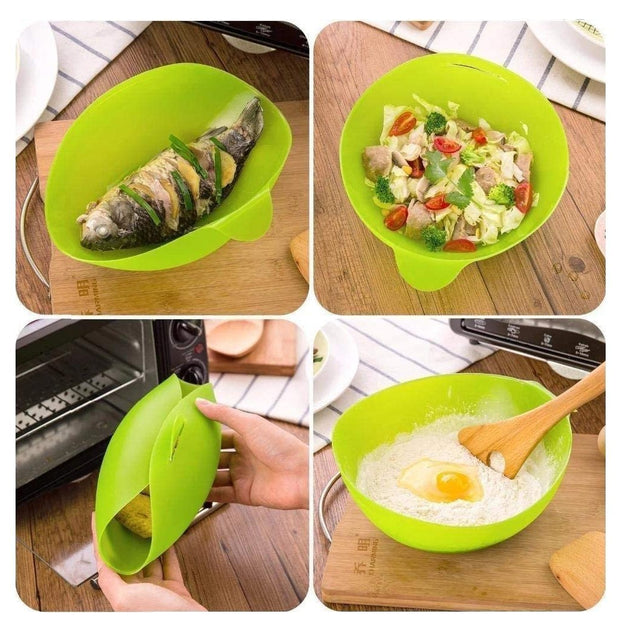 Foldable Silicone Cook Pod All-purpose Cooking Pocket - My Kitchen Cove