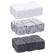 Granite Whiskey Stones Chilling Cubes (6Pcs) - My Kitchen Cove