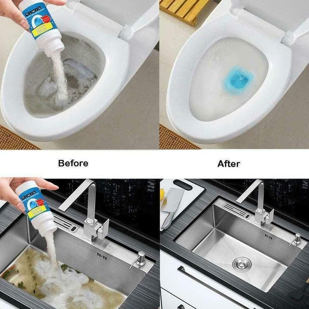 【Hot Sale】Sink And Drain Pipe Dredging Powder - My Kitchen Cove