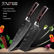 Japanese Chef Knife Set - Stainless Steel Blades - My Kitchen Cove