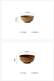 Japanese Style Wooden Bowl - My Kitchen Cove