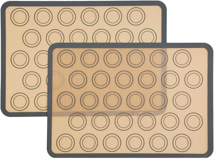 Macaron silicone baking mat (2 Pcs) - My Kitchen Cove