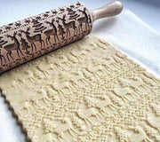 MKC-3D Rolling Pin Christmas Embossing - My Kitchen Cove