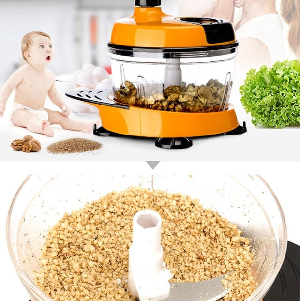 Multifunctional 1.5L Hand Meat grinder and vegetable cutter - My Kitchen Cove