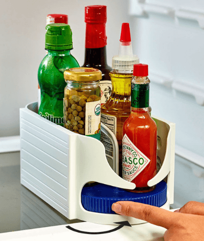 Multifunctional Spice Rack Rotatble - My Kitchen Cove