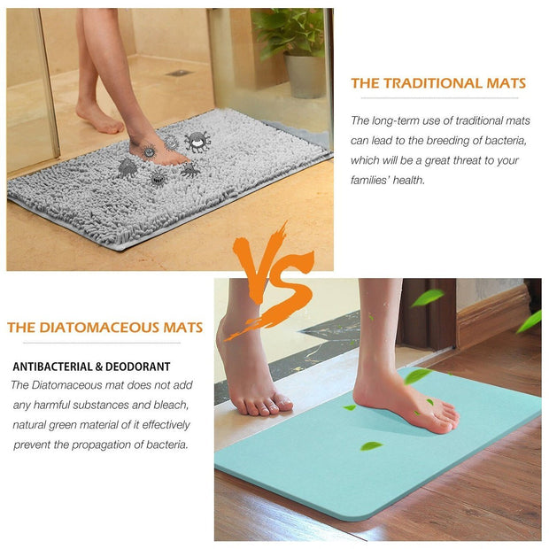 Natural Diatomite Absorbent Mat - My Kitchen Cove