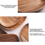 Oval Serving Wood Dishes - My Kitchen Cove