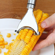 Premium Stainless Steel Corn Peeler - My Kitchen Cove