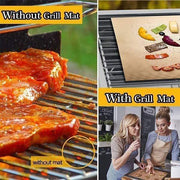 Reusable Non-stick BBQ Grill Mat (3pcs/Pack) - My Kitchen Cove
