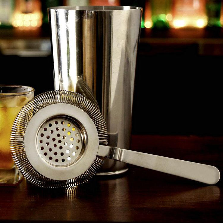 Stainless Steel Cocktail Strainer - My Kitchen Cove