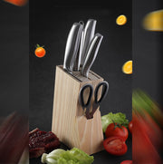 Stainless Steel Kitchen Chef Knife Set - My Kitchen Cove
