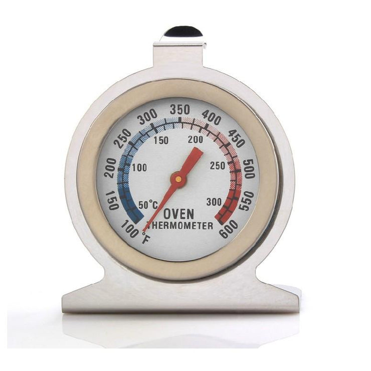 Stainless Steel Oven Thermometer Temperature Gauge - My Kitchen Cove