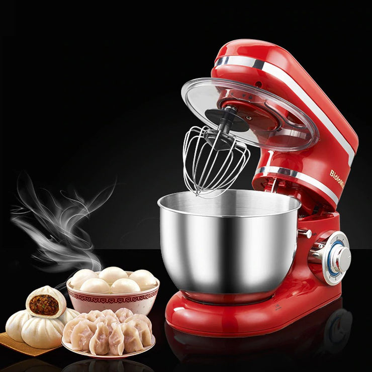 Stand Mixer Multi-Functional Tilt-Head Stainless Steel Egg Beater Dough Mixer - My Kitchen Cove