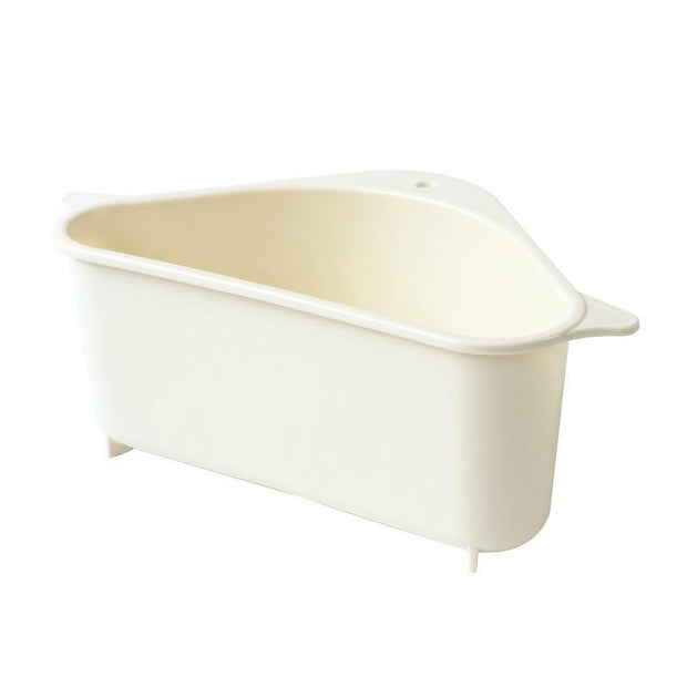 a white tub sitting in a white bathroom