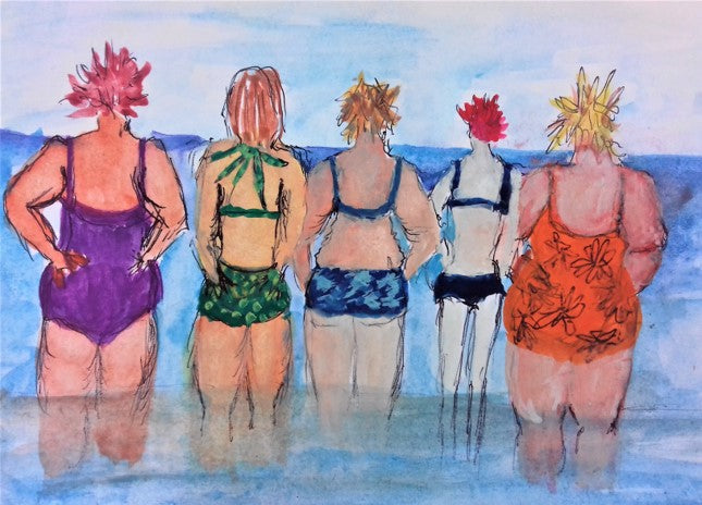 Bathing Belles Limited edition print