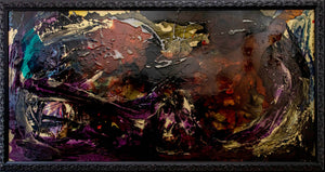 'The Call' - original abstract resin painting
