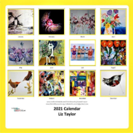 Load image into Gallery viewer, DRINKING WINE IN MY GARDEN 2021 Calendar