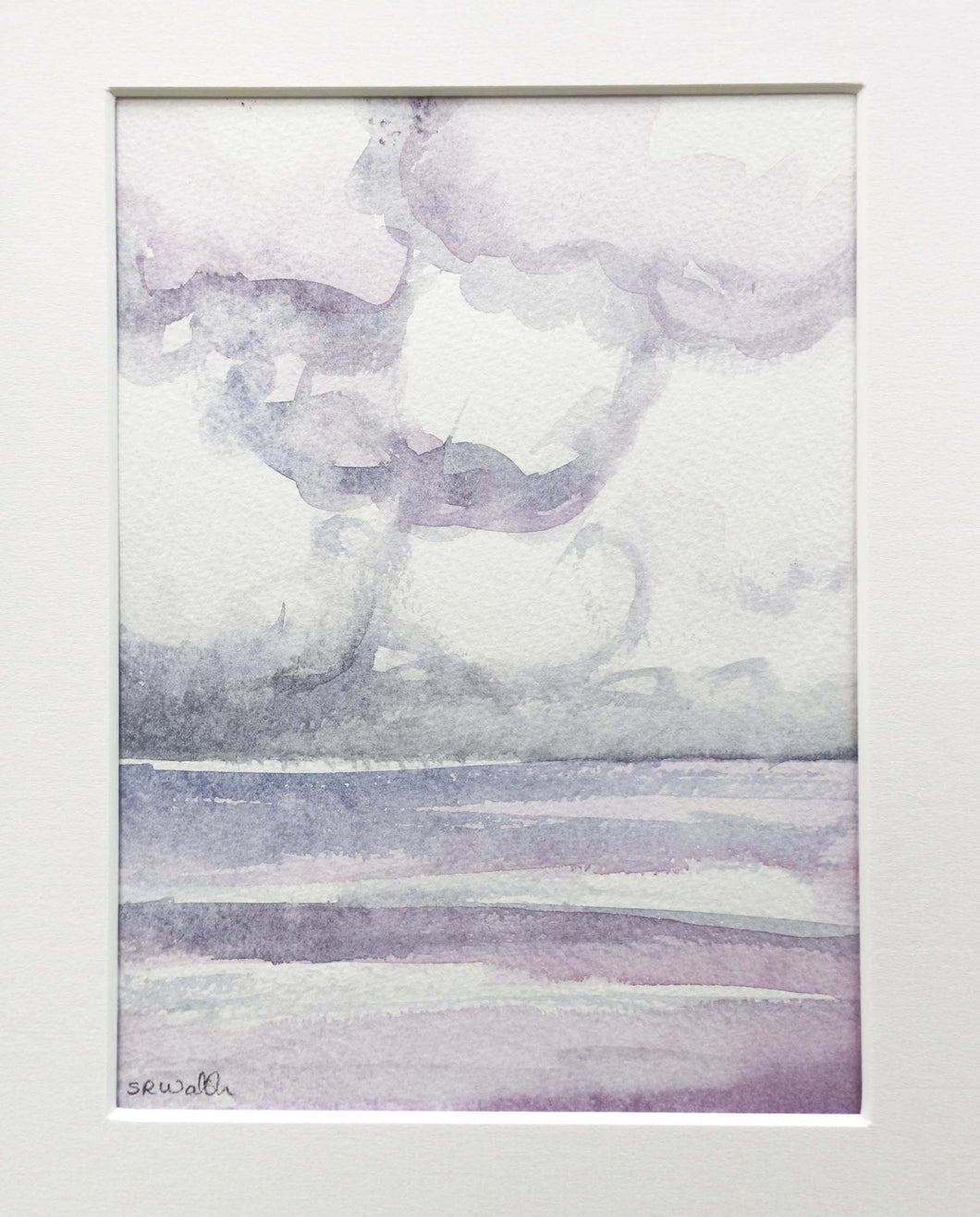 'Capturing a Moment' - original watercolour on paper
