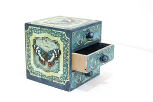 Handmade Treasure Chest - Butterfly