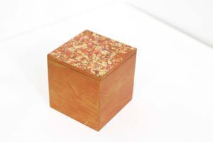 Handmade Treasure Chest - Autumn Gold