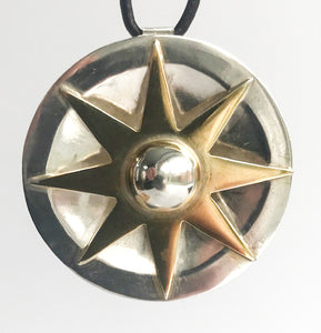 Sterling Silver Pointed Star Pendant