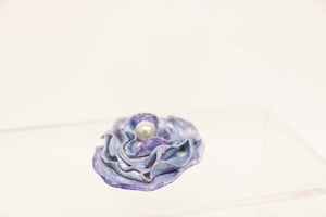 Moon Rose Handmade Brooch