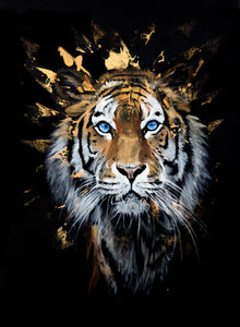 'Eye of the Tiger' - limited edition Giclee print