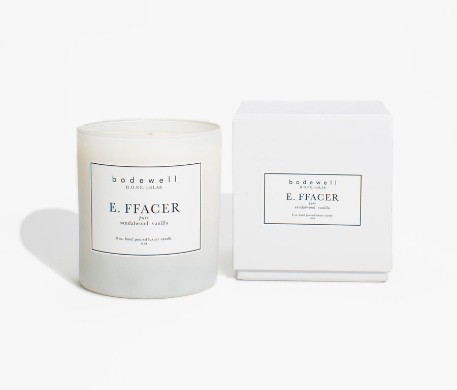 EFFACER Candle - TESTER