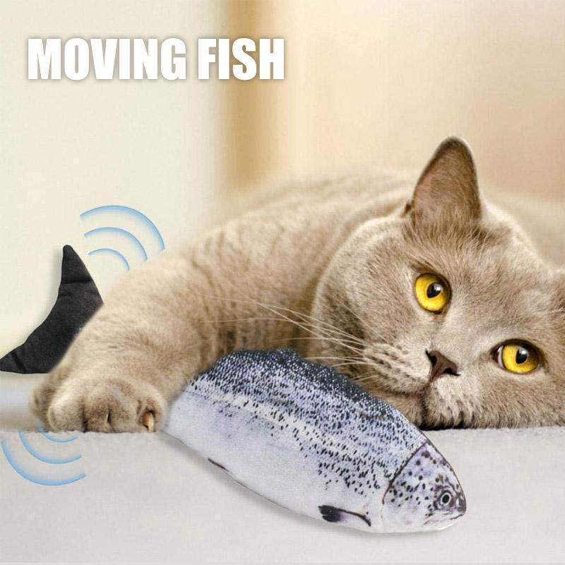 Plush Fish Toy With USB Charger