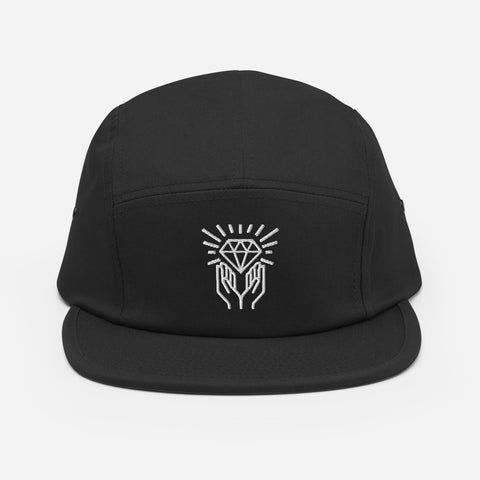 Diamond Hands Five Panel Cap