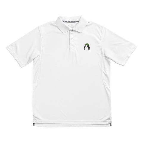 Billie Hair- Embroidered Champion Polo