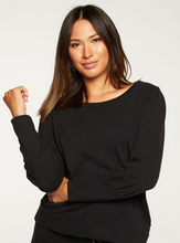 Load image into Gallery viewer, Chaser puff sleeve pullover