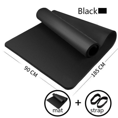 Enlarged Fitness Yoga Mat Pad (Non-Slip)