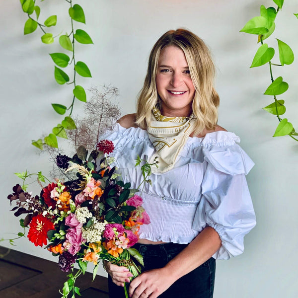 Sarah Marshall Gaia Florals Owner