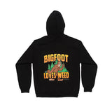 Bigfoot Loves Weed Hoodie