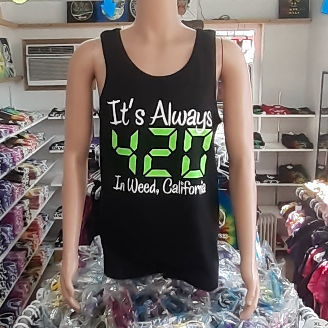 It's Always 420 Men's Tank