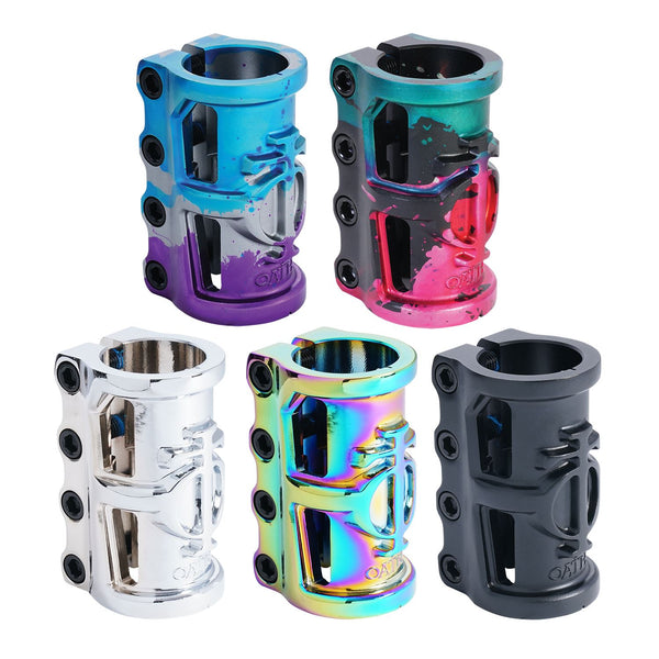 Oath Cage V2 Alloy 4 Bolt SCS Clamp Neo Chrome